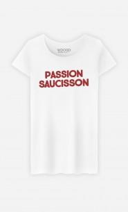 T-Shirt Femme Passion Saucisson