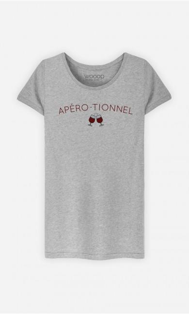 T-Shirt Femme Apéro-tionnel