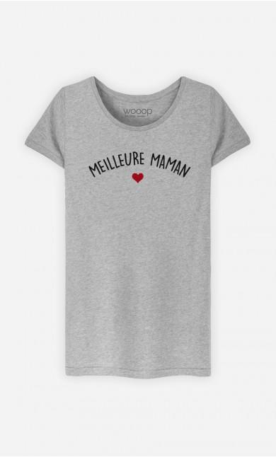 T-Shirt Femme Meilleure Maman