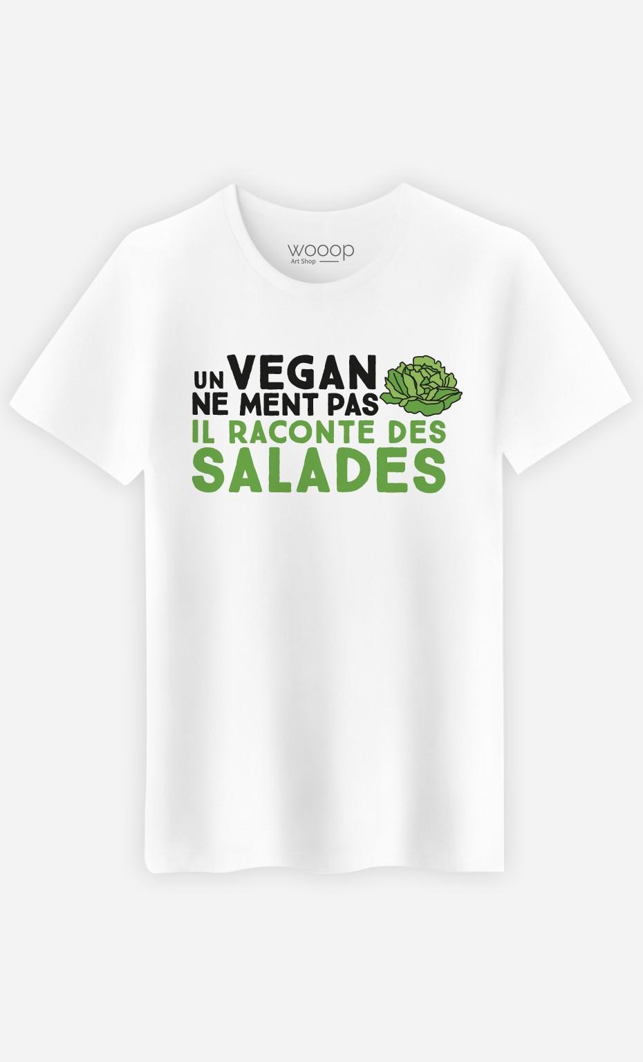 T-Shirt Homme Un vegan ne ment pas