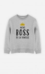 Sweat Enfant Mini Boss