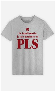 T-Shirt Homme Lundi matin PLS