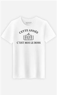 T-Shirt Homme Cette année c'est moi le boss
