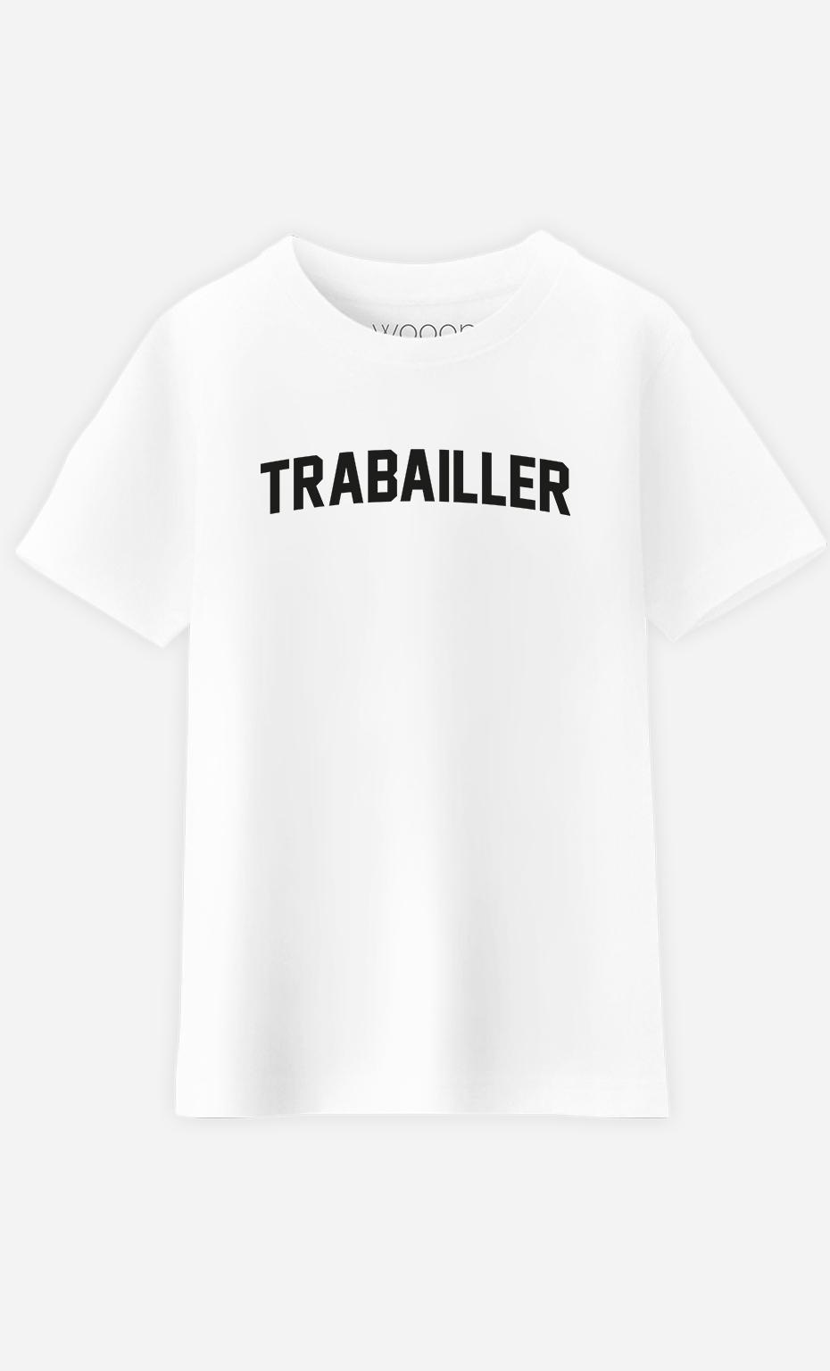 T-Shirt Enfant Trabailler