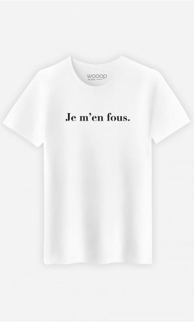 T-Shirt Homme Je m'en fous