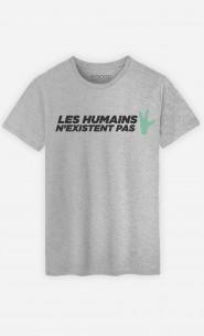 T-Shirt Homme Les humains n'existent pas