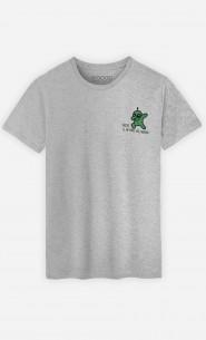 T-Shirt Homme Désolé je ne parle pas humain