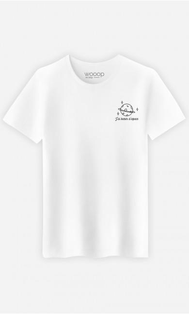 T-Shirt Homme J'ai besoin d'espace
