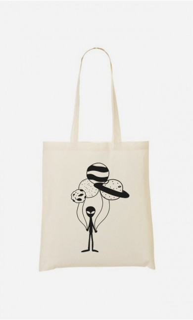 Tote Bag Ballon constellation
