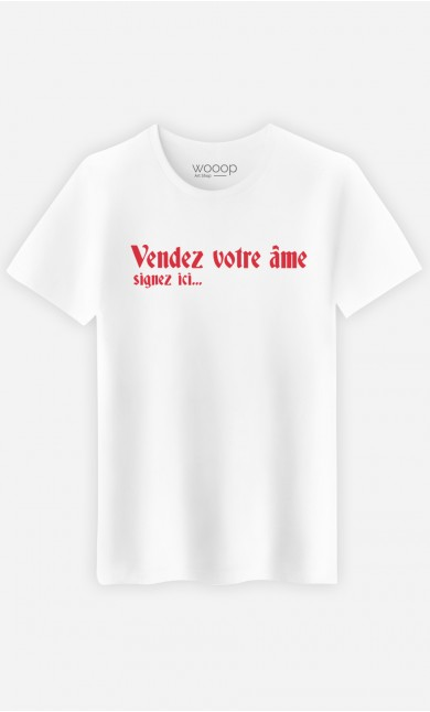 T-Shirt Homme Vendez votre âme