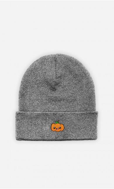 Bonnet Pumpkin - brodé