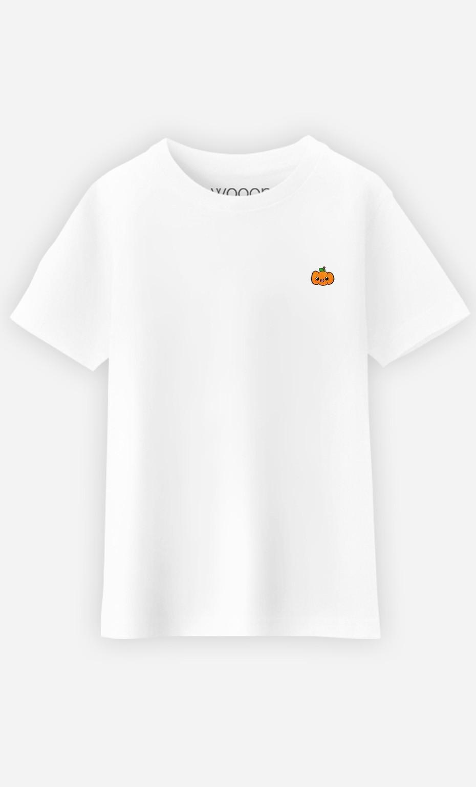 T-Shirt Enfant Pumpkin - brodé