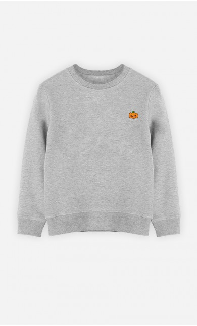 Sweat Enfant Pumpkin - brodé