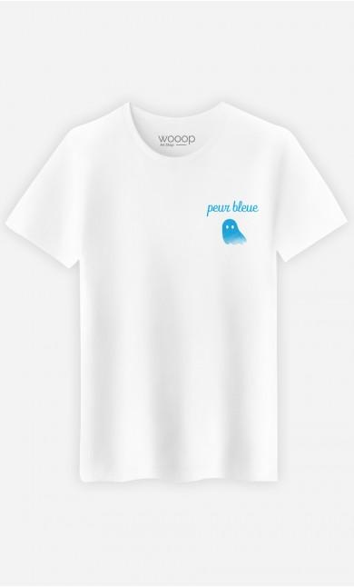 T-Shirt Homme Peur Bleue