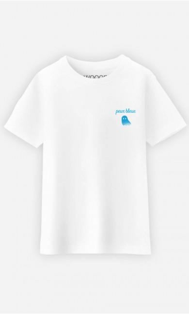 T-Shirt Enfant Peur Bleue