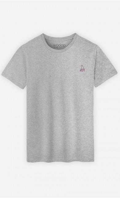 T-Shirt Homme La Main - brodé
