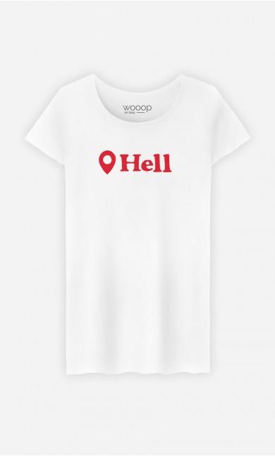 T-Shirt Femme Hell