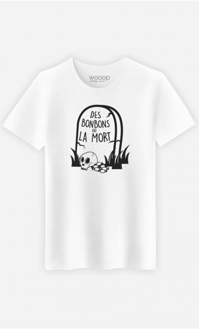 T-Shirt Homme Des Bonbons ou la Mort