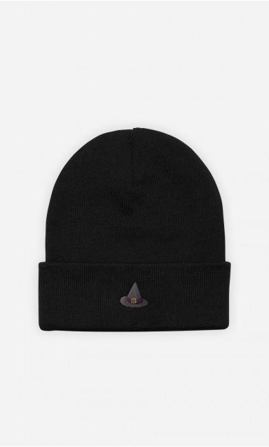 Bonnet Chapeau de Sorcière - brodé
