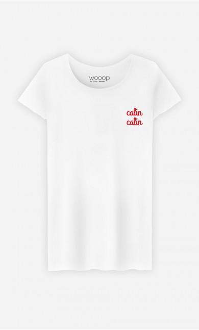 T-Shirt Femme Câlin câlin