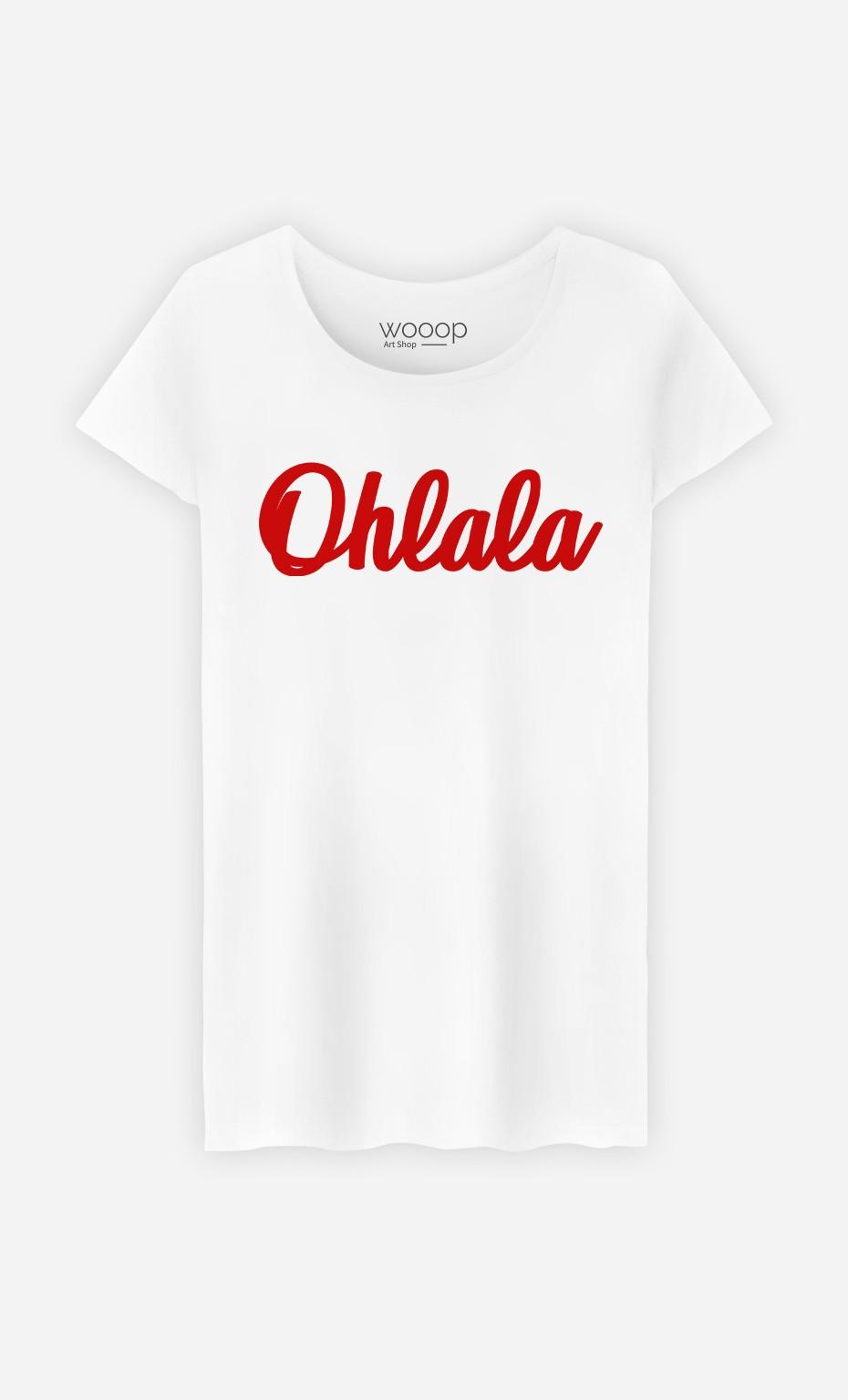 T-Shirt Femme Oh La La