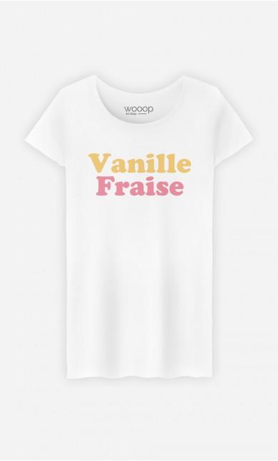 T-Shirt Femme Vanille Fraise