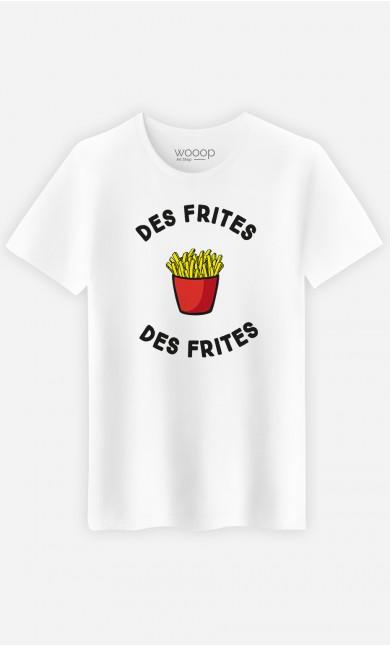 T-Shirt Homme Des frites des frites