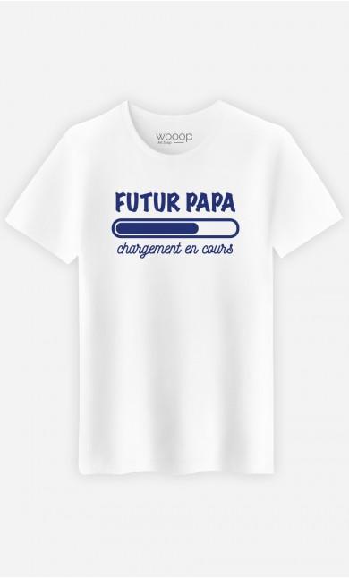 T-Shirt Homme Futur papa chargement en cours
