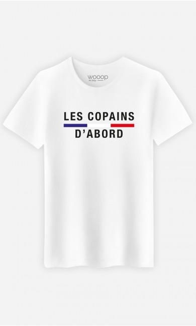 T-Shirt Homme Les copains d'abord