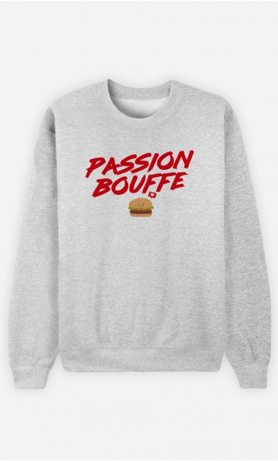 Sweat Homme Passion bouffe