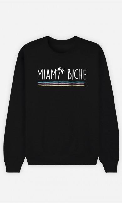 Sweat Femme Miami biche