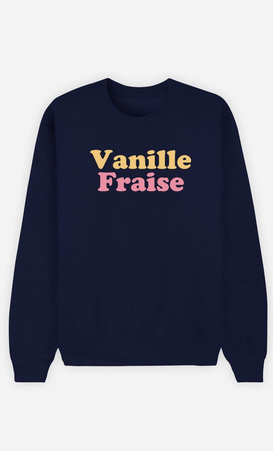Sweat Femme Vanille Fraise