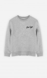 Sweat Enfant Chic type
