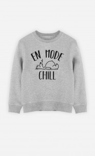 Sweat Enfant En mode chill