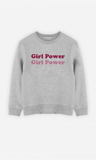 Sweat Enfant Girl Power