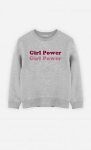 Sweat Enfant Girl Power