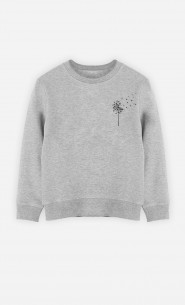 Sweat Enfant Pissenlit
