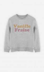 Sweat Enfant Vanille Fraise