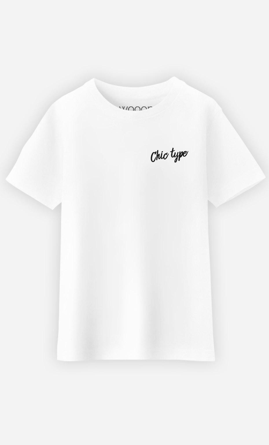 T-Shirt Enfant Chic type