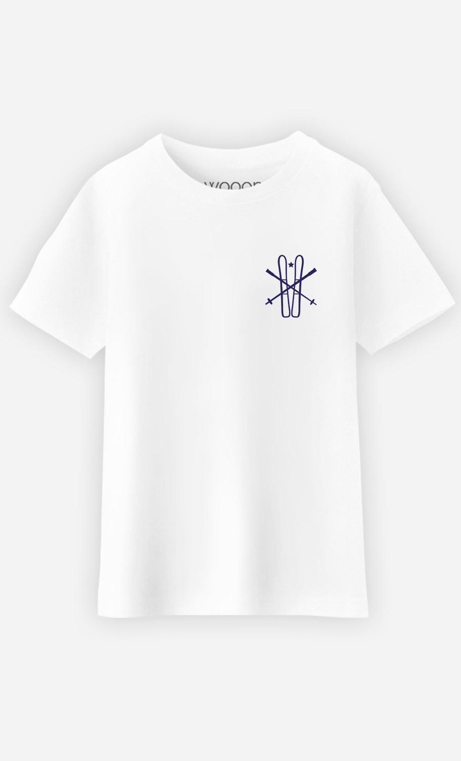 T-Shirt Enfant Ski