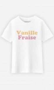 T-Shirt Enfant Vanille Fraise