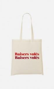 Tote Bag Baisers Volés