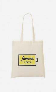 Tote Bag Flemme 100