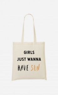 Tote Bag Girls just wanna have sun