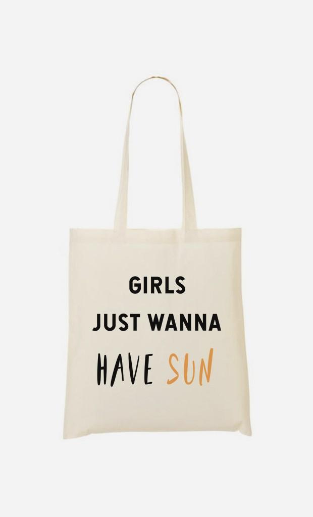 Tote Bag Girls just wanna have sun