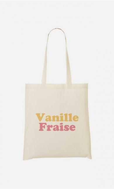 Tote Bag Vanille Fraise