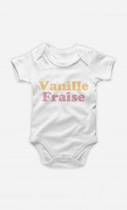 Body Bébé Vanille Fraise