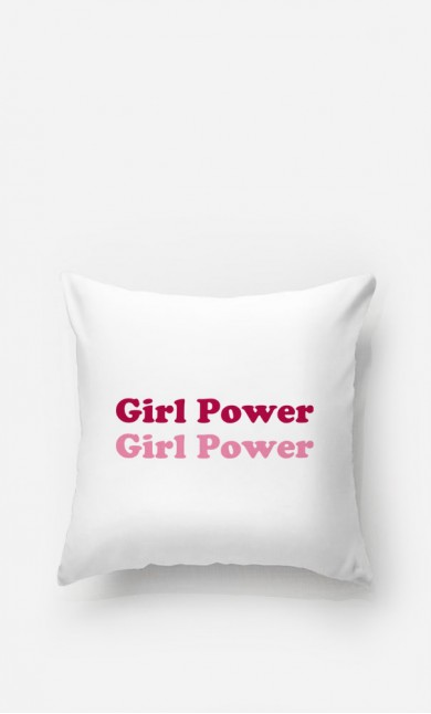 Coussin Girl Power