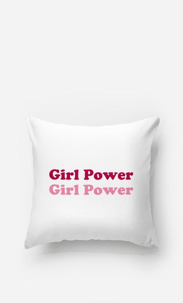 Coussin Girl Power