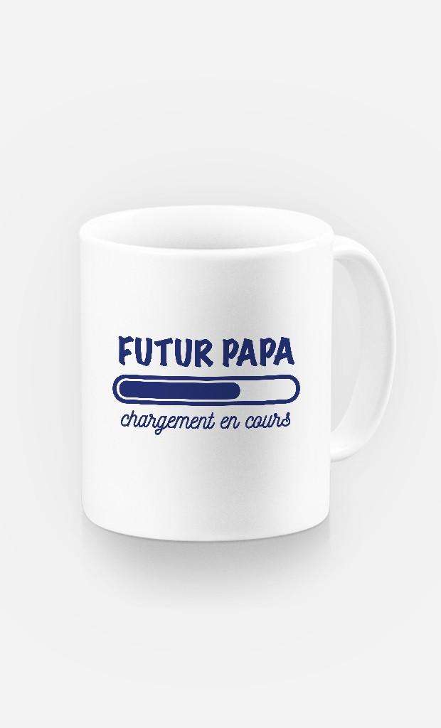 Mug Futur papa chargement en cours